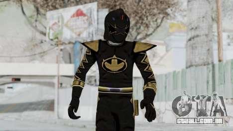 Power Rangers Dino Thunder - Black para GTA San Andreas