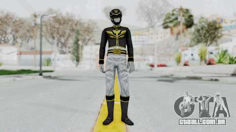 Power Rangers Megaforce - Black para GTA San Andreas segunda tela