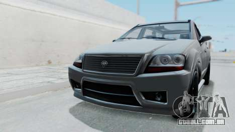 GTA 5 Benefactor Serrano IVF para GTA San Andreas