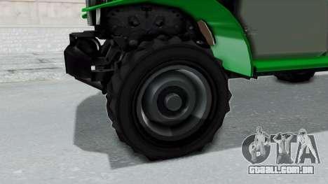 GTA 5 Bravado Duneloader Cleaner IVF para GTA San Andreas vista traseira