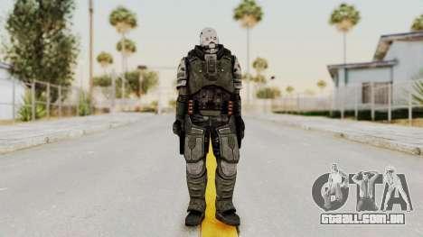 F.E.A.R. 2 - Replica Heavy Soldier para GTA San Andreas segunda tela