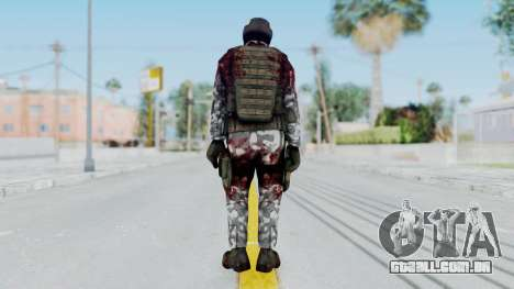 Black Mesa - Wounded HECU Marine Medic v1 para GTA San Andreas terceira tela