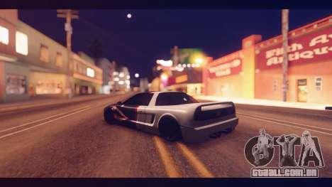 Infernus Shark Edition by ZveR v1 para GTA San Andreas esquerda vista