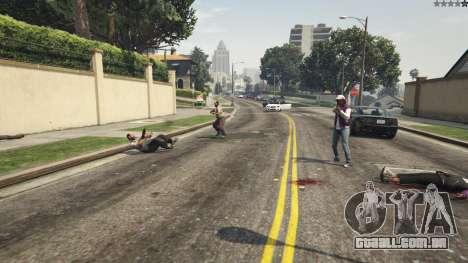 GTA 5 More crime mod 1.1a sexta imagem de tela