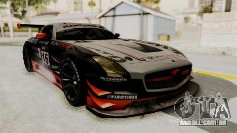 Mercedes-Benz SLS AMG GT3 PJ2 para GTA San Andreas interior