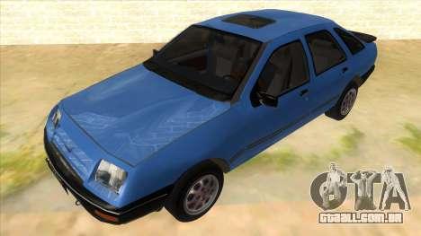 Ford Sierra 1.6 GL Updated para GTA San Andreas