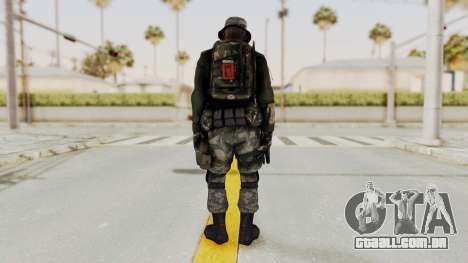 Battery Online Soldier 3 v1 para GTA San Andreas terceira tela