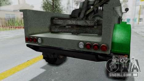 GTA 5 Bravado Duneloader Cleaner Worn IVF para GTA San Andreas vista interior