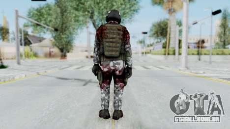 Black Mesa - Wounded HECU Marine Medic v2 para GTA San Andreas terceira tela