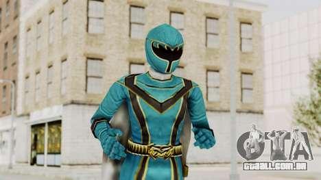 Power Rangers Mystic Force - Blue para GTA San Andreas