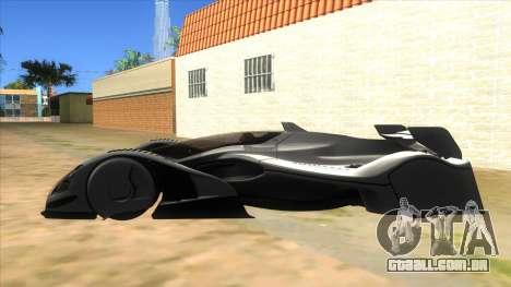 RedBull X2010 para GTA San Andreas esquerda vista