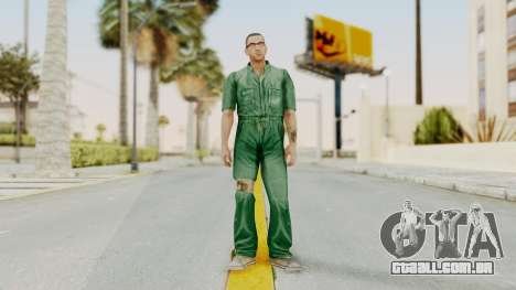 Manhunt 2 - Danny Prison Outfit para GTA San Andreas segunda tela