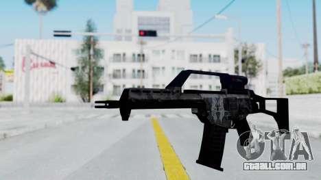 G36E Valkyrie Paintjob para GTA San Andreas segunda tela