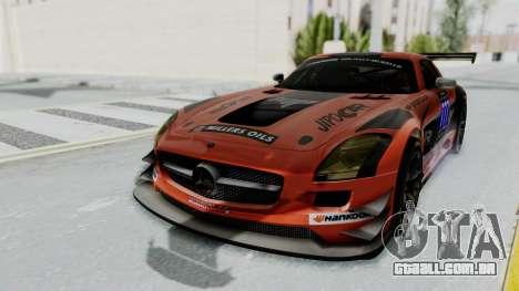 Mercedes-Benz SLS AMG GT3 PJ7 para GTA San Andreas vista inferior