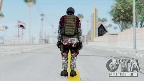 Black Mesa - Wounded HECU Marine v3 para GTA San Andreas terceira tela