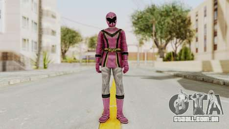 Power Rangers Mystic Force - Pink para GTA San Andreas segunda tela
