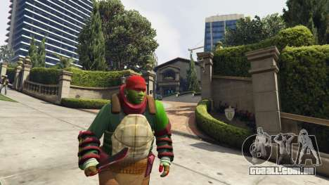 GTA 5 Teenage mutant ninja turtles terceiro screenshot