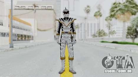 Power Rangers Dino Thunder - White para GTA San Andreas segunda tela