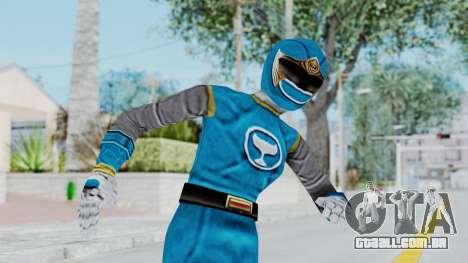 Power Rangers Ninja Storm - Blue para GTA San Andreas