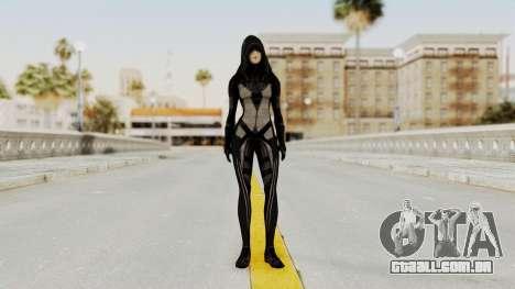 Mass Effect 2 Kasumi Black para GTA San Andreas segunda tela