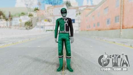 Power Rangers RPM - Green para GTA San Andreas segunda tela