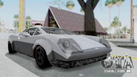 GTA Vice City - Infernus para GTA San Andreas vista direita