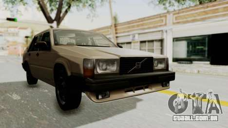 Volvo 740 para GTA San Andreas