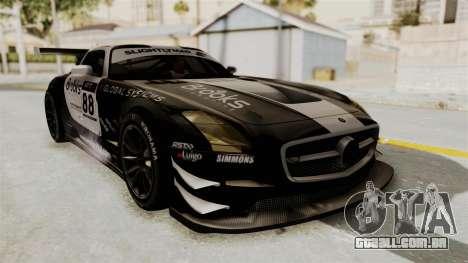 Mercedes-Benz SLS AMG GT3 PJ2 para GTA San Andreas vista interior