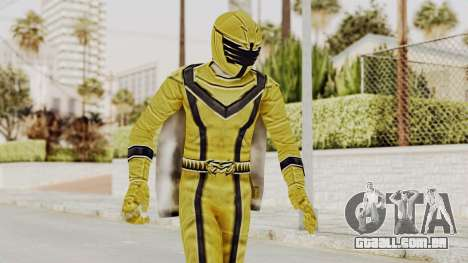 Power Rangers Mystic Force - Yellow para GTA San Andreas