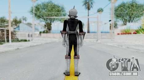 Power Rangers RPM - Silver para GTA San Andreas terceira tela