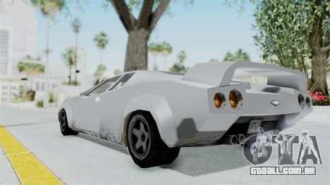 GTA Vice City - Infernus para GTA San Andreas esquerda vista
