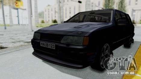 Ford Sierra Turnier 4x4 Saphirre Cosworth para GTA San Andreas