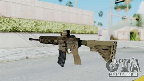 HK416A5 Assault Rifle para GTA San Andreas segunda tela