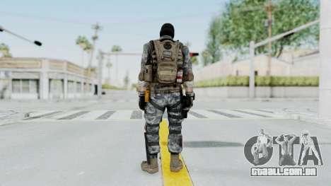 Battery Online Soldier 5 v3 para GTA San Andreas terceira tela
