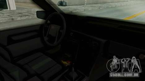 Volvo 740 para GTA San Andreas vista interior