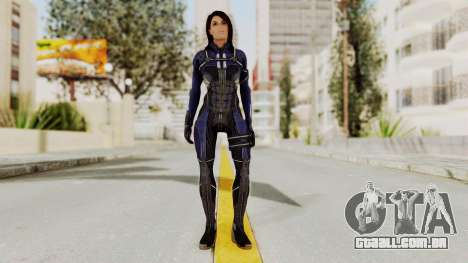 Mass Effect 3 Ashley Williams Ashes DLC Armor para GTA San Andreas segunda tela