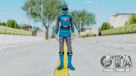 Power Rangers Ninja Storm - Blue para GTA San Andreas segunda tela