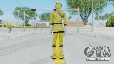 Power Rangers Wild Force - Yellow para GTA San Andreas terceira tela