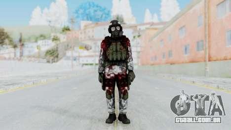 Black Mesa - Wounded HECU Marine Medic v2 para GTA San Andreas segunda tela