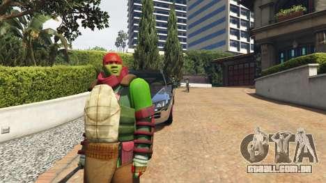 Teenage mutant ninja turtles para GTA 5