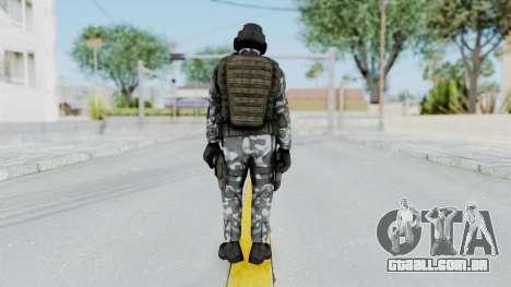 Black Mesa - HECU Marine Medic v2 para GTA San Andreas terceira tela