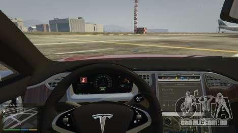 Tesla Model S para GTA 5