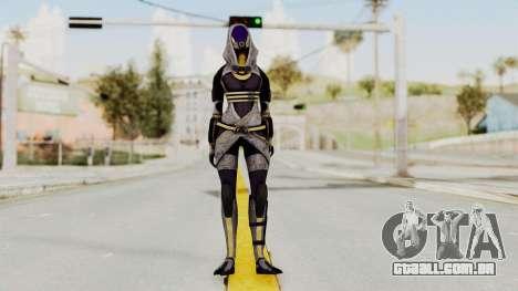 Mass Effect 3 Tali Zorah nar Rayya para GTA San Andreas segunda tela