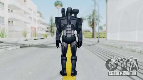 Marvel Future Fight - War Machine para GTA San Andreas terceira tela