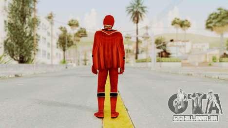 Power Rangers Mystic Force - Red para GTA San Andreas terceira tela