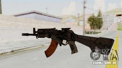 Black Ops 3 - KN-44 para GTA San Andreas segunda tela