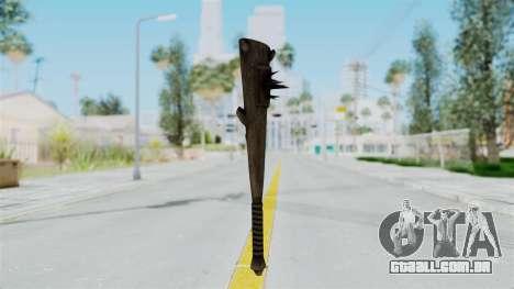 Skyrim Iron Club para GTA San Andreas segunda tela