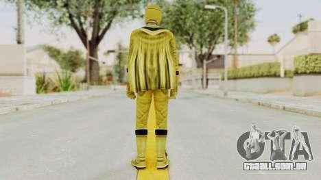 Power Rangers Mystic Force - Yellow para GTA San Andreas terceira tela