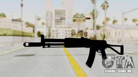 AEK-971 para GTA San Andreas segunda tela