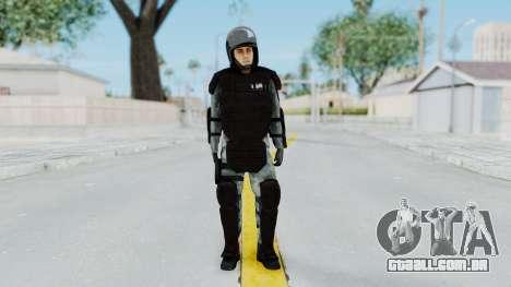 Gendarmerie, Que A Riot Pele para GTA San Andreas segunda tela